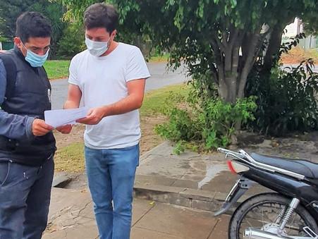 """Alejo Sarna: """"Las patentes municipalizadas siguen llegando con aumentos exorbitantes"""""""