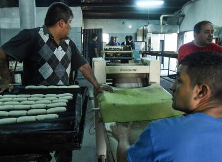400 presos bonarenses elaboran 300.000 kilos de pan mensuales para autoconsumo