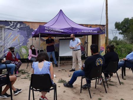 Realizarán cursos de Introducción al Trabajo dirigido a jóvenes del Sector Islas Canal Irigoyen