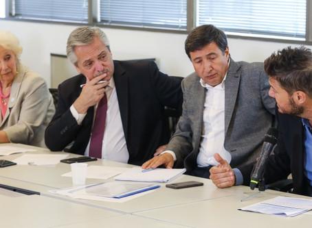 Alberto Fernández presentó el Consejo Federal contra el Hambre