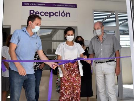 Se inauguró el nuevo centro de salud de Otamendi