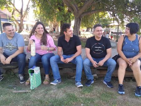 Alejo Sarna: ''Los vecinos de Campana queremos una costanera para disfrutar''