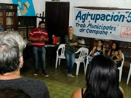 Oficializaron a la Agrupación 5 de Abril para las elecciones del sindicato municipal