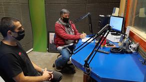 Productores de ''La Necrópolis Municipal'' charlaron con Gustavo Dappiano