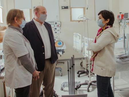 El hospital recibió una importante donación para la nueva Unidad de Terapia Intensiva