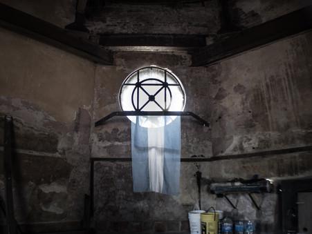 Una escalera hacia la cúpula (por Nacho Ibañez)