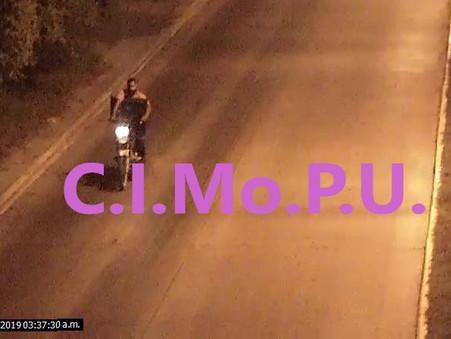 Robó un plasma pero fue visto por las cámaras del CIMoPU