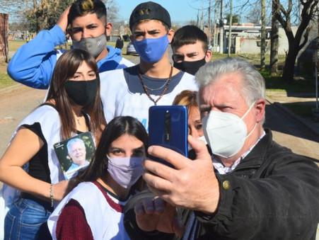 """Romano en los barrios: """"No hay planificación y el intendente no cumplió sus promesas"""""""