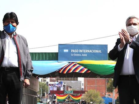 El pueblo y Evo caminan juntos por Bolivia (Por Gustavo Parravicini)