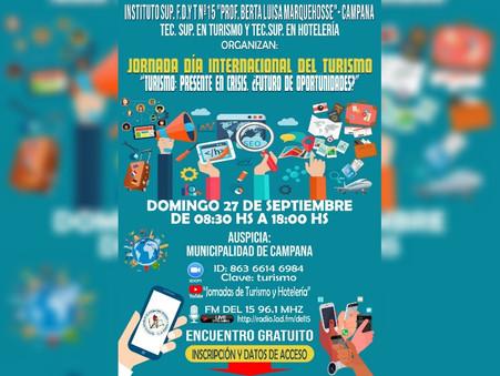 Jornada virtual por el día internacional del turismo