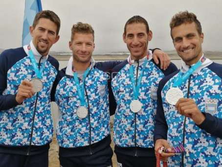 Remo: Por doping en bote uruguayo, Rodrigo Murillo y Argentina suman un nuevo oro panamericano