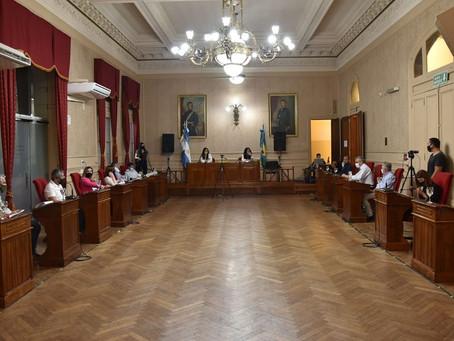 HCD: se aprobaron importantes proyectos para la ciudad