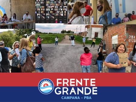 Frente Grande en Campana, nuestro segundo aniversario (por Gustavo Parravicini)