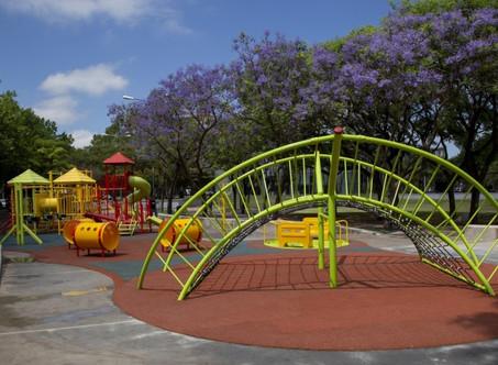 El Parque Urbano fue renovado y ya cuenta con un moderno patio de juegos