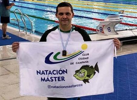 Natación: Bruno Di Cola, el más destacado del equipo del C.C.C. en el Campeonato Argentino Master