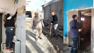 Barrios de Pie trabaja para la inauguración de un jardín maternal en el Lubo