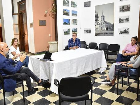 Con foco en el Coronavirus, el Municipio se reunió con autoridades del Concejo Deliberante