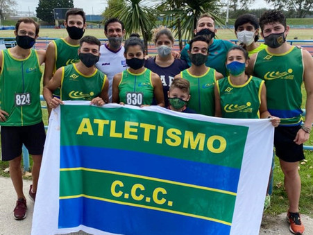ATLETISMO: 2 títulos y 2 subcampeonatos para el Club Ciudad en el Provincial de Mayores de MDQ