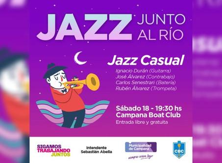 """El próximo sábado regresa """"Jazz junto al río"""""""
