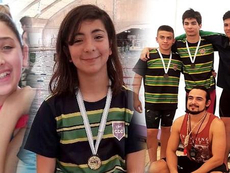 Natación: Victorias de Agostina Hein y Emma Migueles en la 3° fecha del Clausura de FANNBA