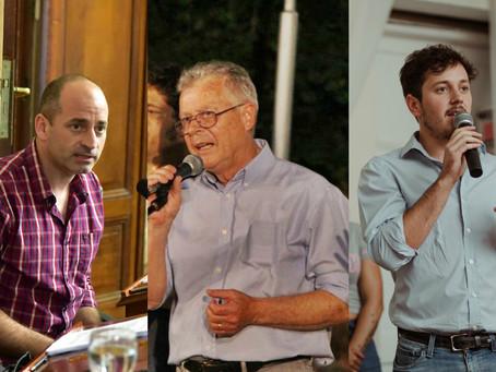 Colella, Romano y Sarna hablaron del ''Frente de Todos'' y de la unidad del peronismo en Campana