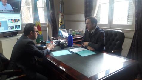 El municipio de se sumó a la Red de Desarrollo que impulsa la Secretaría de DD HH de la Nación
