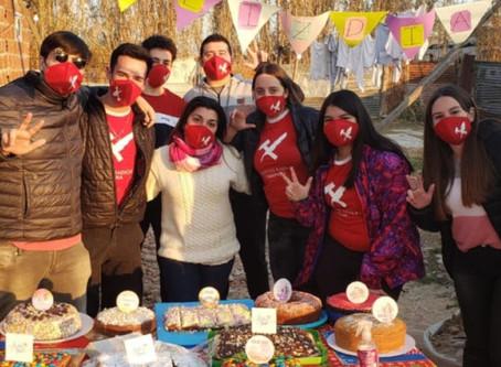 La Juventud Radical festejó el Día del Niño
