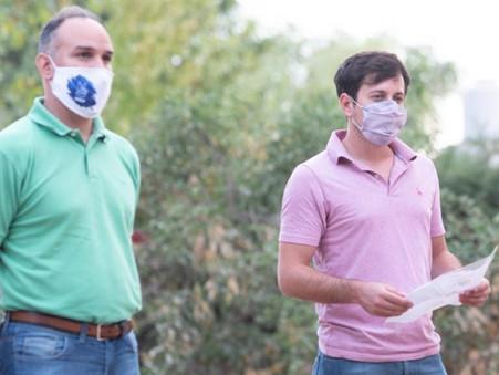 """Alejo Sarna: """"Apoyemos las medidas sanitarias para cuidar la salud de todas y todos"""""""