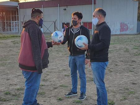 """Alejo Sarna: """"A diferencia del Municipio, para nosotros si son importantes los clubes de barrio"""""""