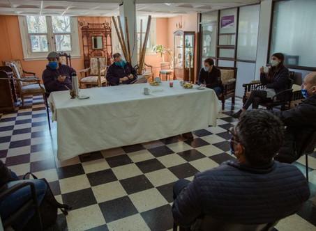 El Intendente mantuvo una reunión con organizaciones sociales