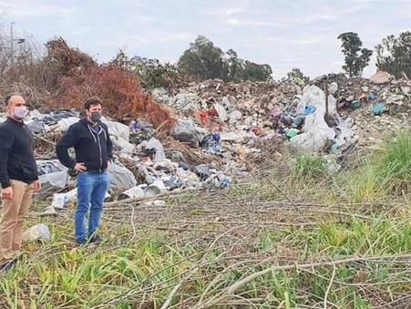 Alejo Sarna cuestionó la falta de compromiso Municipal con el cuidado del medioambiente