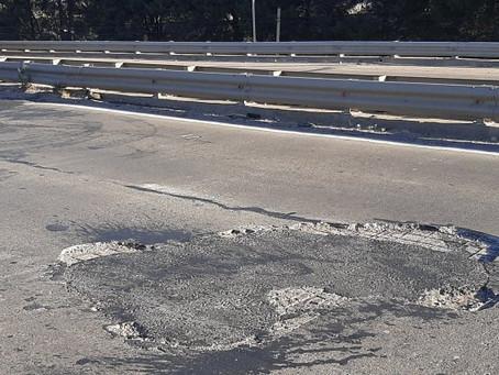 Tras un accidente en nuevo accidente en la Ruta 6, Karina Sala reiteró la necesidad de repararla