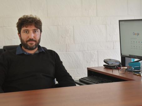 Fabio Fraticelli inauguró su propio estudio contable