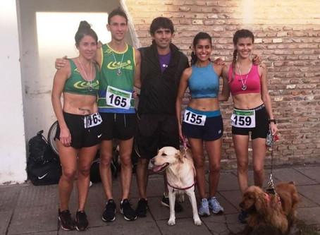 Atletas del Club Ciudad fueron protagonistas en los 10K de la 2° edición de ''Santa Lucía Corre''