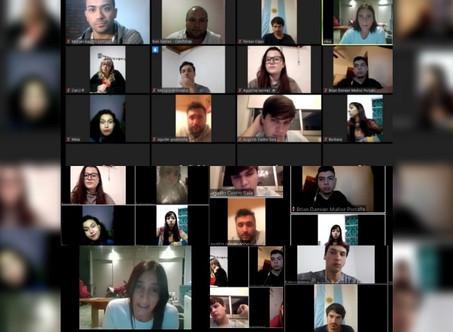 Jóvenes de Juntos por el Cambio conversaron por Zoom con Elisa Abella