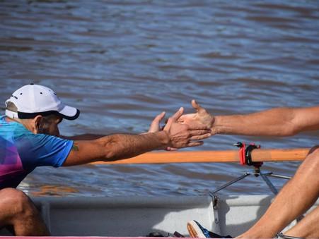 Pablo Canteros fue 2° en la primera regata de travesía de 2019