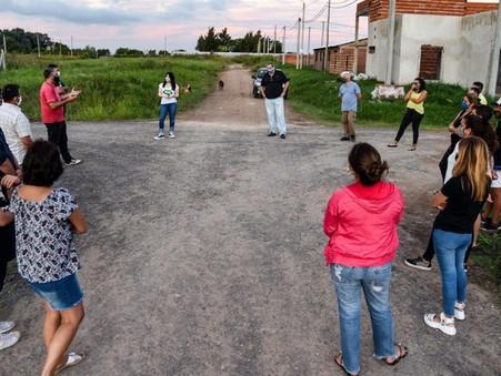 Vecinos de Jardín de Los Pioneros expusieron preocupaciones a la diputada provincial Soledad Alonso