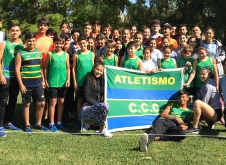 Atletismo: Excelente performance del equipo del Club Ciudad de Campana en Luján