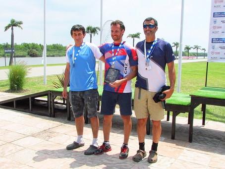 Marcelo Kury, bronce en el CAR-Master