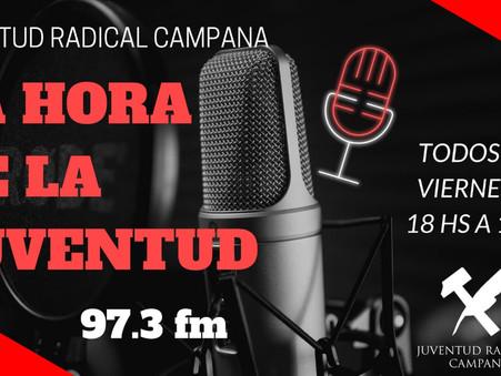 La Juventud Radical emitirá su primer programa de radio