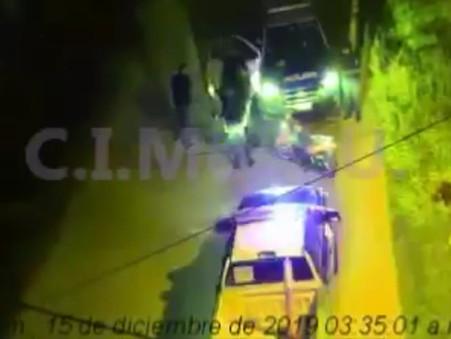A través de las cámaras del CIMoPU, recuperan una moto robada