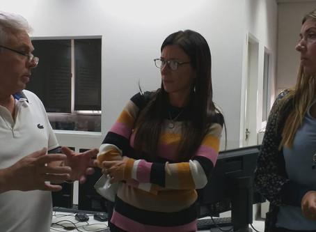 María Eugenia Giroldi junto a Gabriel Katopodis: ''Campana tiene que imitar a San Martín''