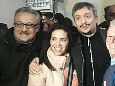 """""""Alberto y Máximo sintetizan la actualidad del Movimiento Peronista"""""""