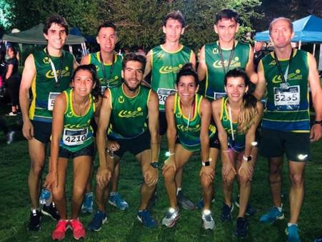 Grandes performances de runners del Club Ciudad en la Nocturna Buenos Aires