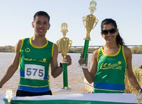 Con victorias de runners del C.C.C., se corrió la XIX Carrera Popular de la C.E.Z.