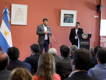 Casa Rosada festejó 50 años de labor profesional junto a los profesionales de Higiene y Seguridad