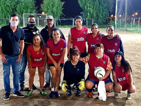 Alejo Sarna mostró su acompañamiento al desarrollo del deporte local
