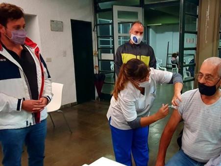 Alejo Sarna destacó que Argentina tenga más de 12 millones de vacunas