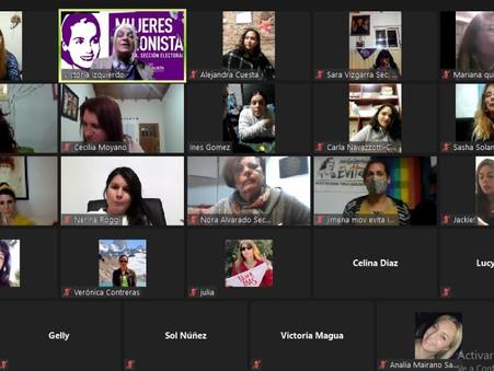 Mujeres Peronistas de Campana se reunieron con Victoria Izquierdo