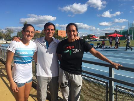 Atletismo: buenas performances de Agostina Ríos y Carolina Vera en el Nacional de Mayores